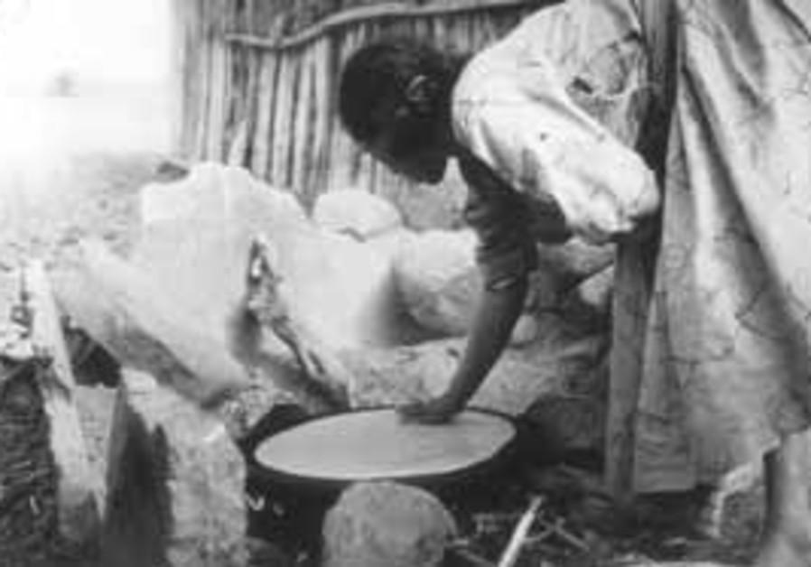 Making Matza in Ethiopia (Eyal Peled)