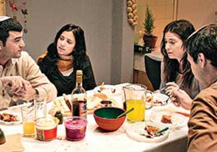 SCREENSHOT FROM 'Srugim,' the popular Israeli TV d