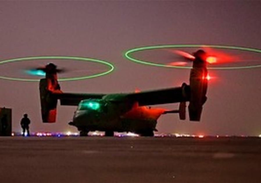 The USAF 'Osprey'. (AP)