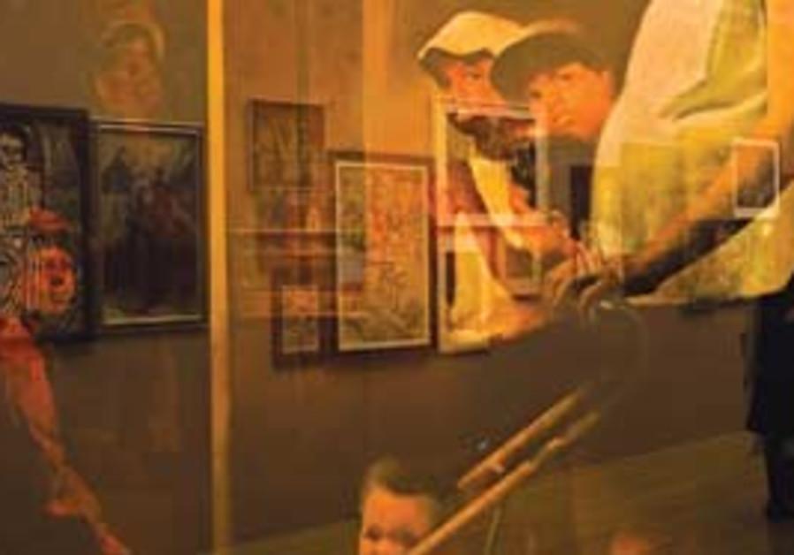 Artwork at Yad Vashem