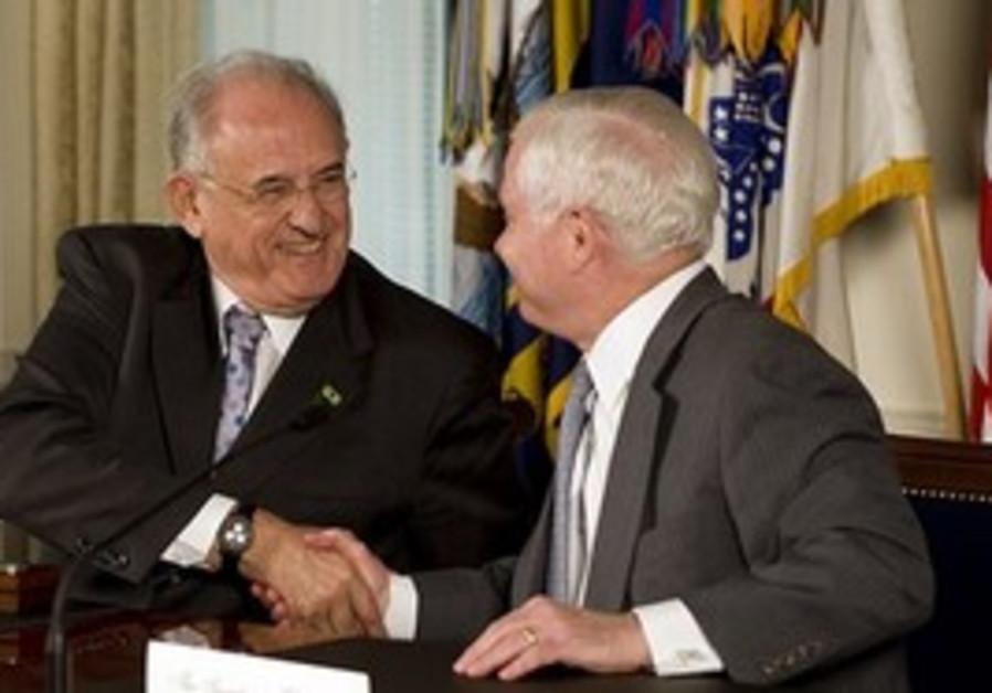 Defense Secretary Robert Gates and Brazilian Defen