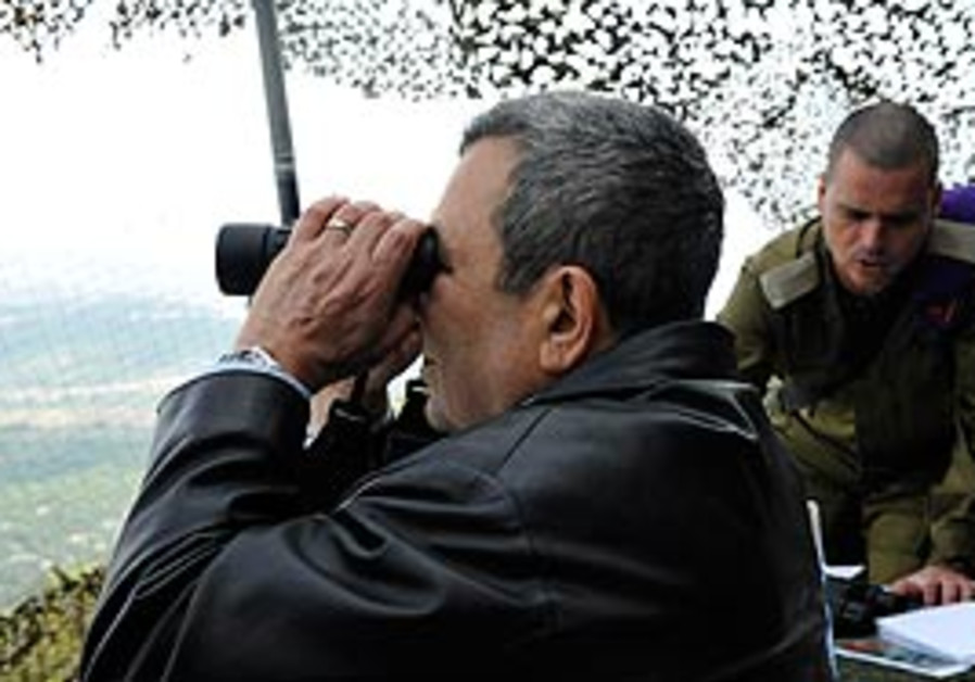 Ehud Barak at Tel Hashomer