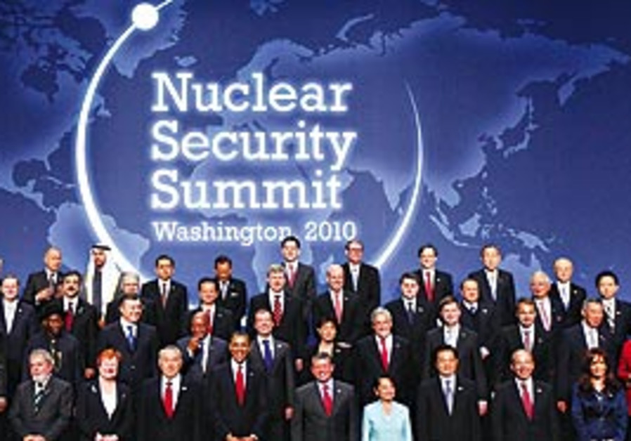 April 2010 Nuclear Summit in Washington