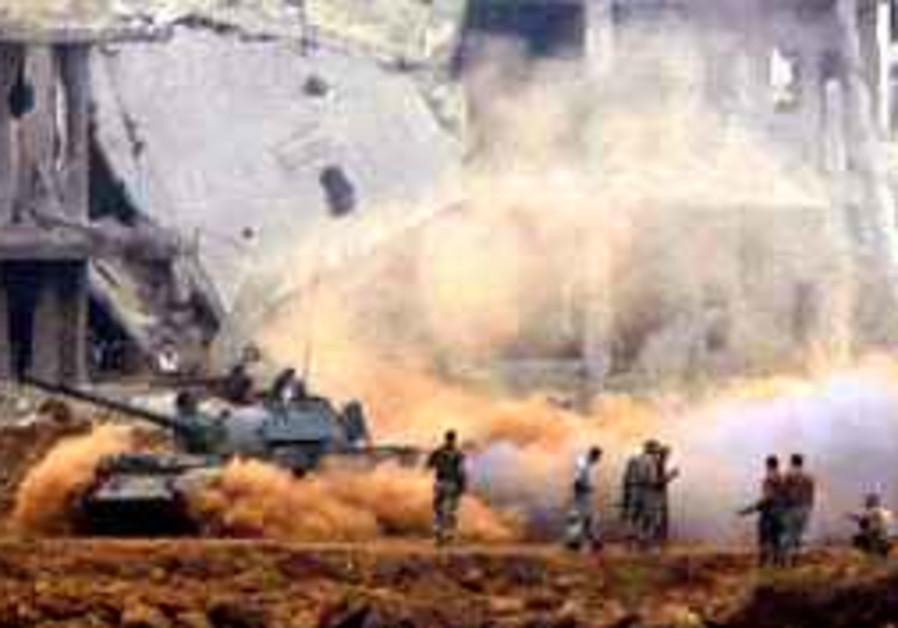 6 Islamic gumen killed in clash with Lebanese troops