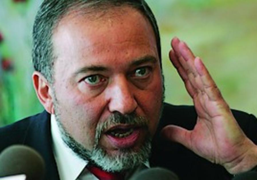 Foreign Minister Avigdor Lieberman (AP).
