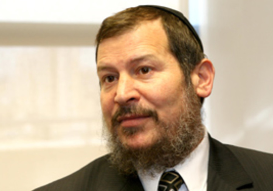 Former Jerusalem mayor Uri Lopolianski.