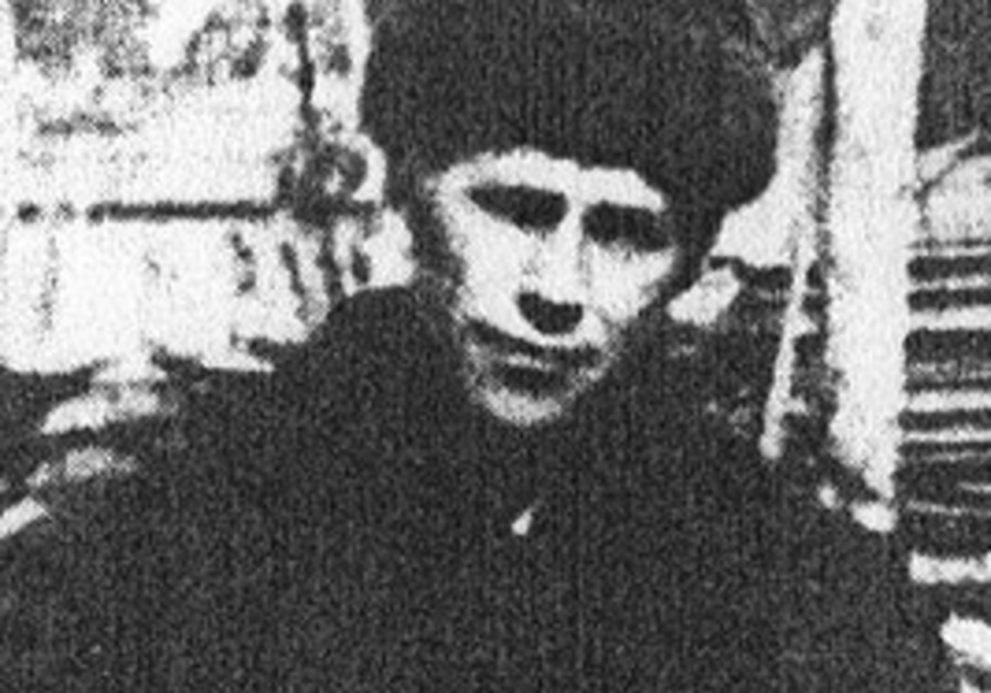 AN OLD photo of Yechezkel Pulerevitch in exile in