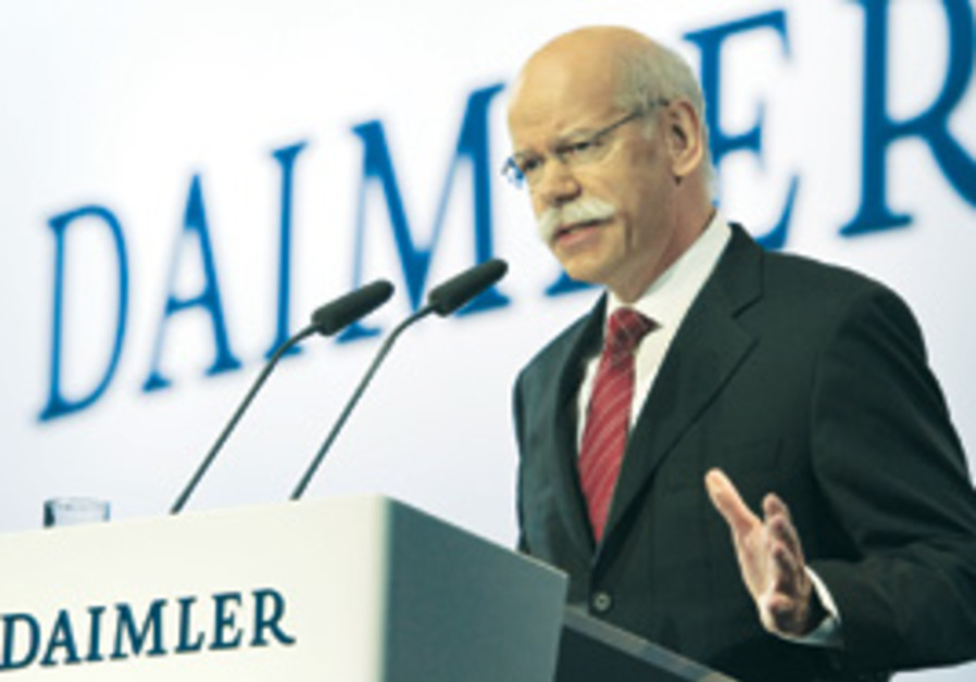 Dieter Zetsche, the chairman of Daimler AG and hea