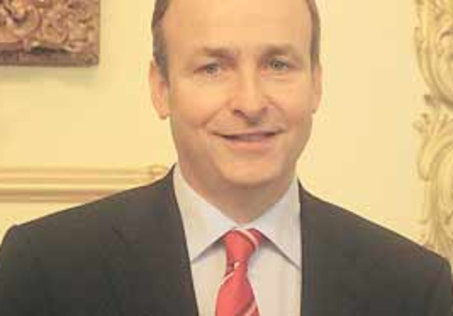 Irish Minister for Foreign Affairs Micheal Martin.
