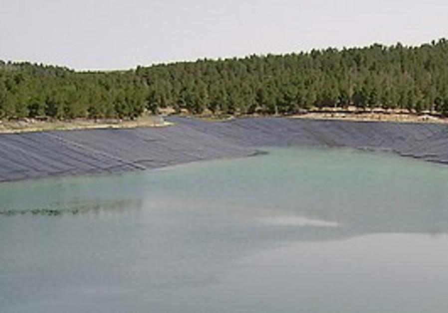 Yatir reservoir