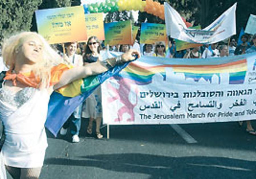The Jerusalem Gay Pride Parade.