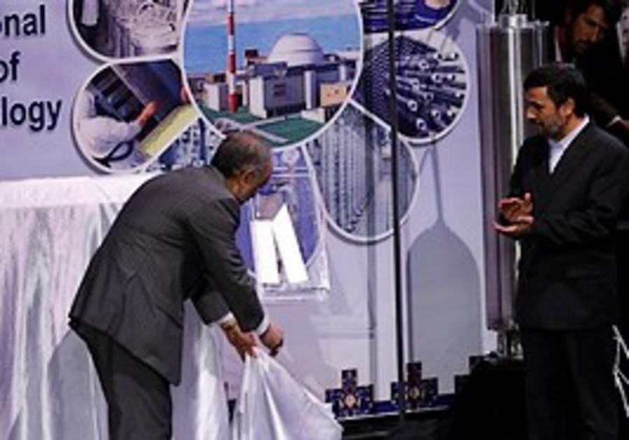 Iran's Atomic Energy Organization Chief Ali Akbar