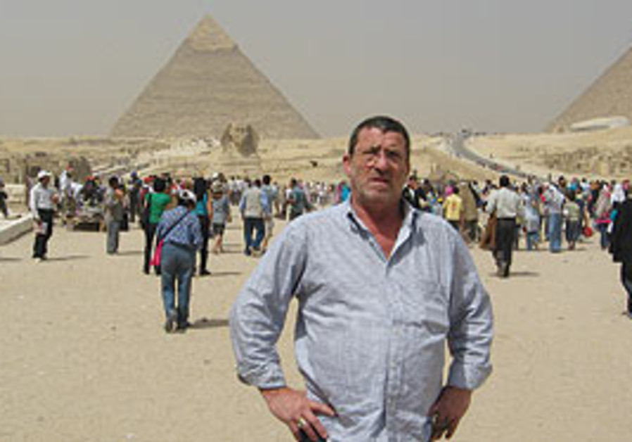 URI EHRENFELD in Egypt. 'The moment we landed ther