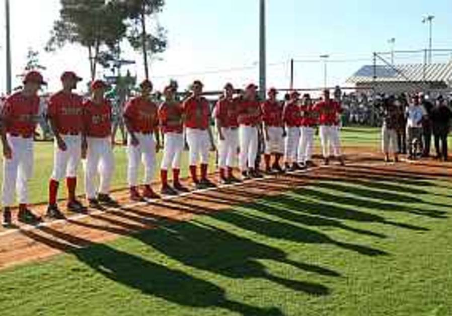 A successful start for professional baseball in Israel