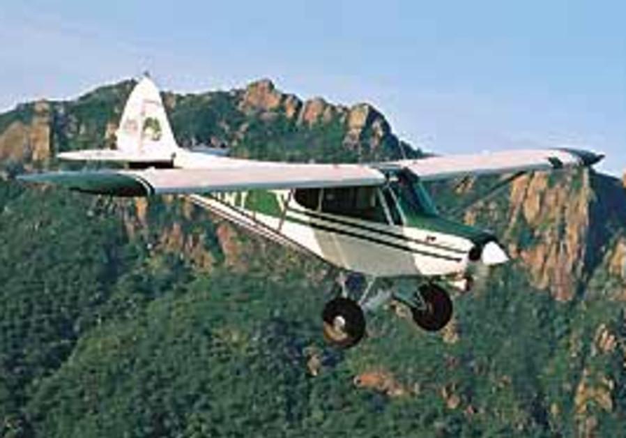 BILL CLARK flying a retired Israel Air Force Super
