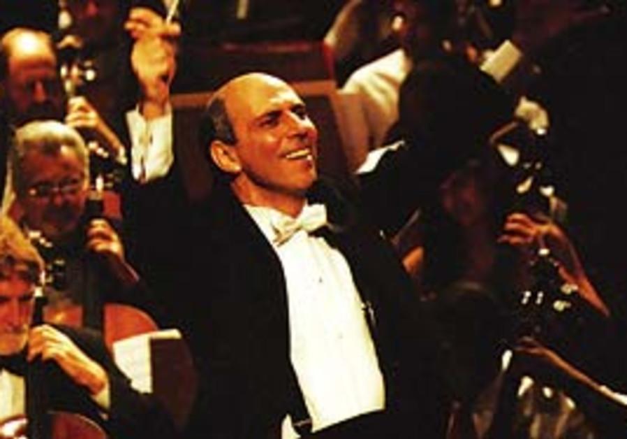 Conductor Yeruham Scharovsky.