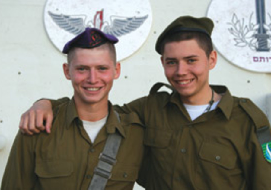 JEWISH ENOUGH to make aliya and serve in the IDF: