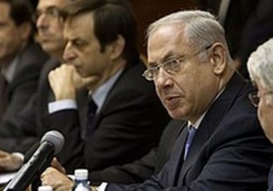 Netanyahu cabinet meeting