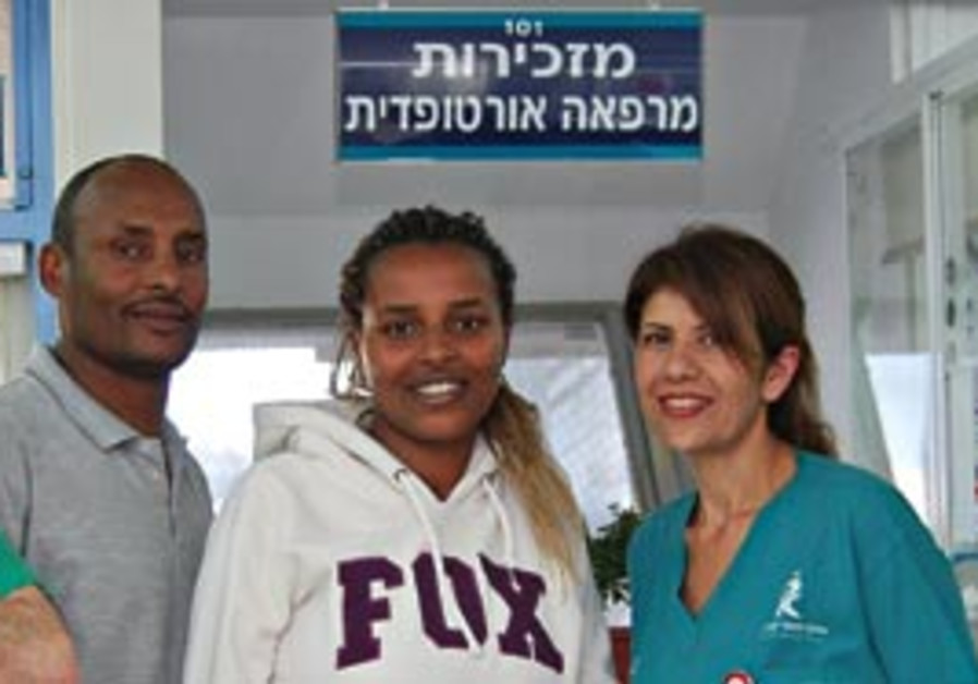Ambut Mulau and the Kaplan medical team that treat