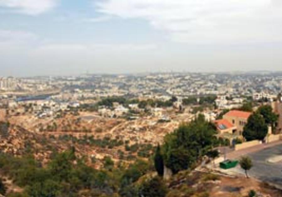 Gilo overlooks all of west Jerusalem