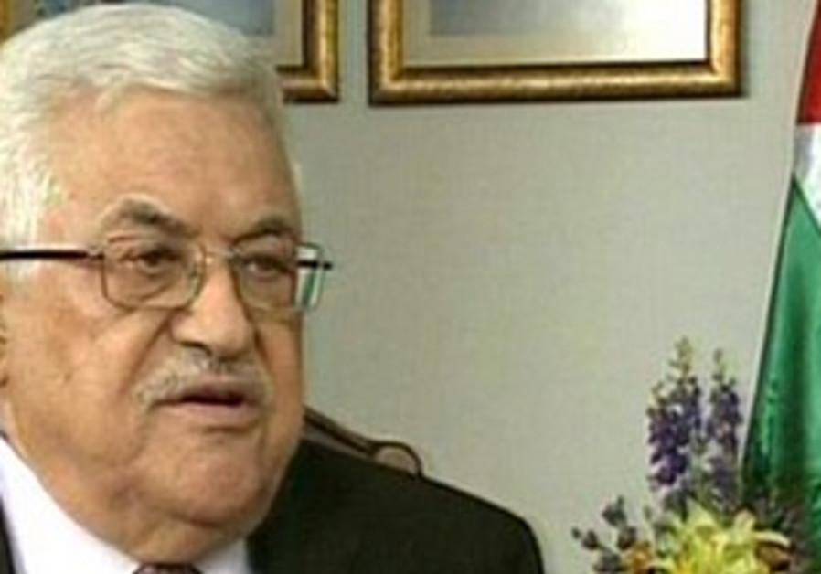 Abbas speaks to Channel 2.