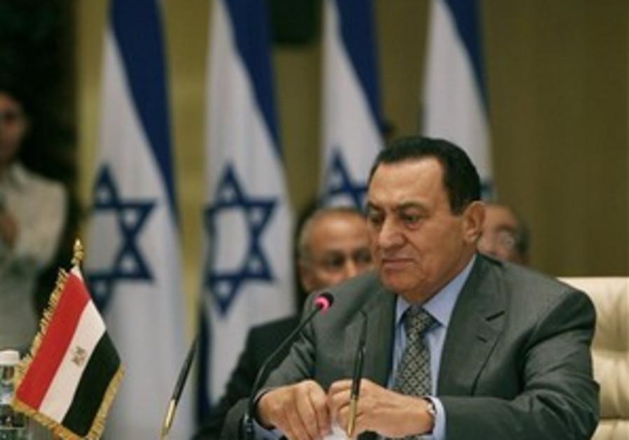 Mubarak blames Hamas for PA scrape