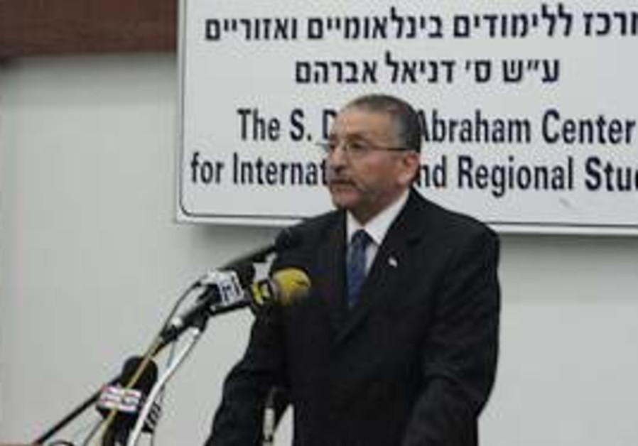Egyptian ambassador to Israel Yasser Reda.
