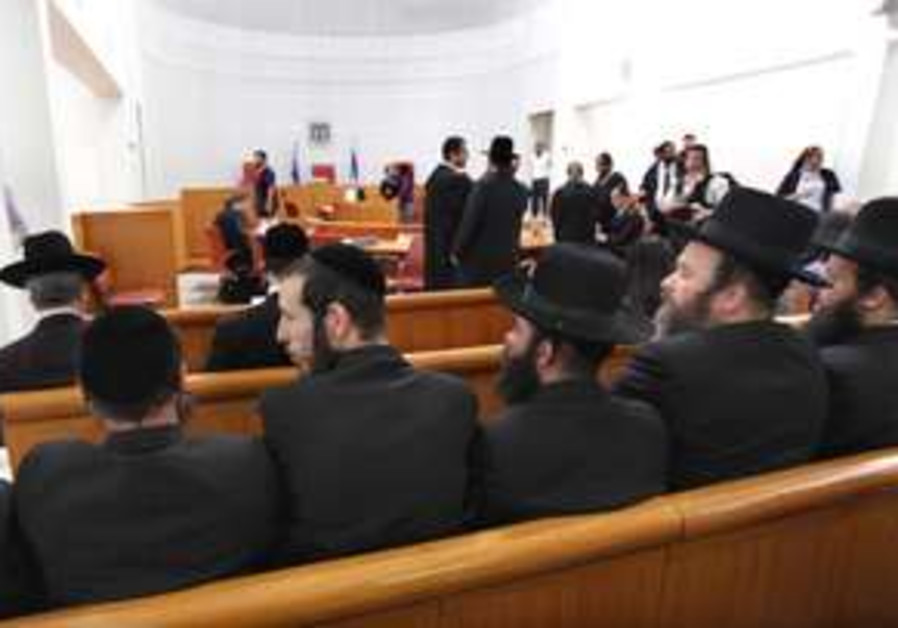 Haredim in court