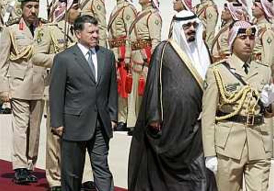 Jordan, Saudi Arabia warn against Palestinian infighting