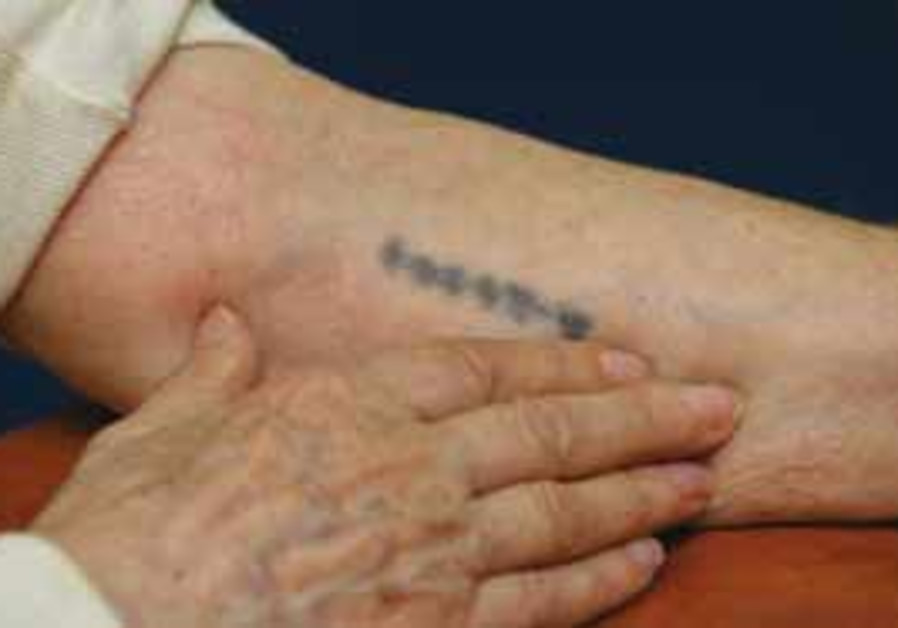 numbers on an arm