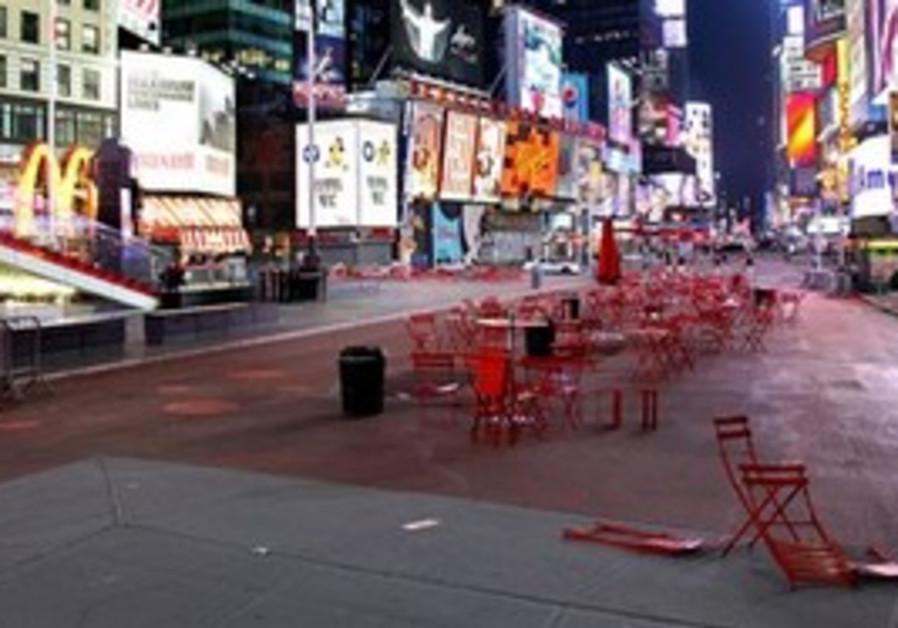 Times Square evacuated