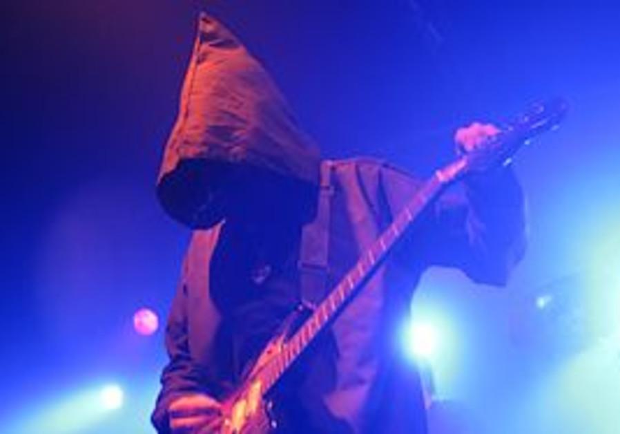 Trey Spruance onstage in Tel Aviv.