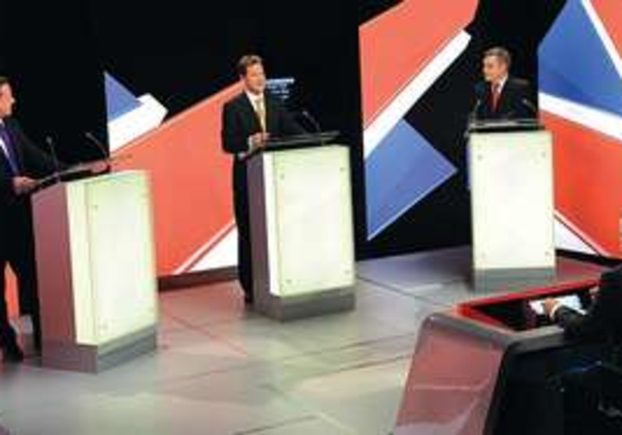 British elections debate 2010