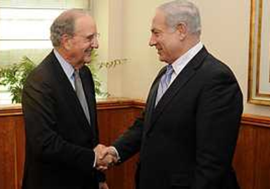 Mitchell and Netanyahu launch proximity talks.