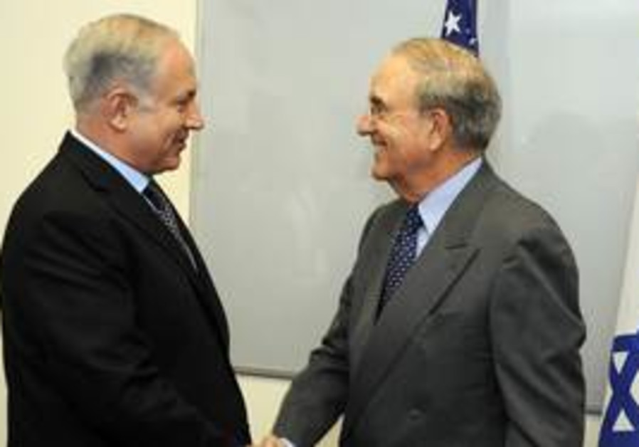 Netanyahu meets Mitchell in Tel Aviv on Thursday,