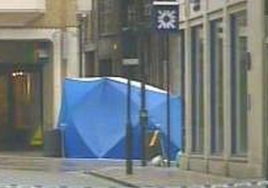 British police hunt car bomb suspect