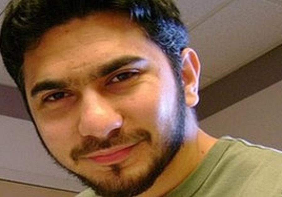 Faisal Shahzad, arrested at a New York airport on