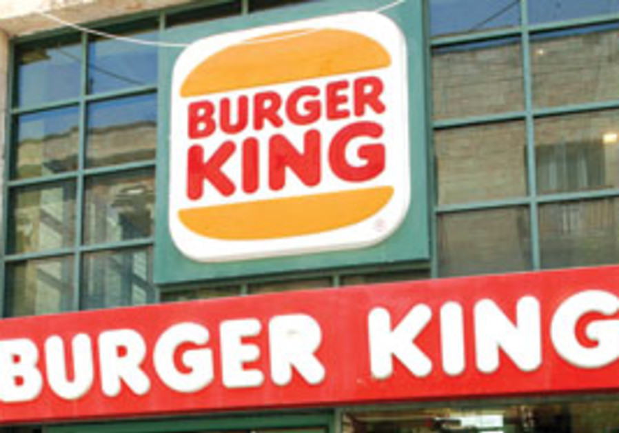 Burger Ranch To Take Over All Local Branches Of Burger King Israel