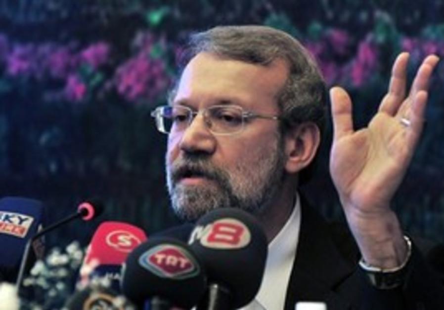 Ali Larijani, Speaker of Iran's parliament