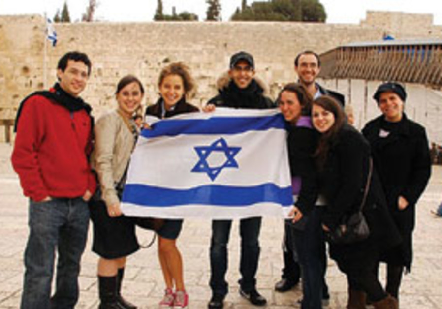 Bar-Ilan University ESC members on a day trip to J