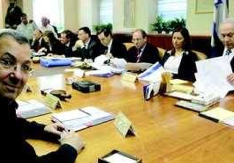 The cabinet convenes