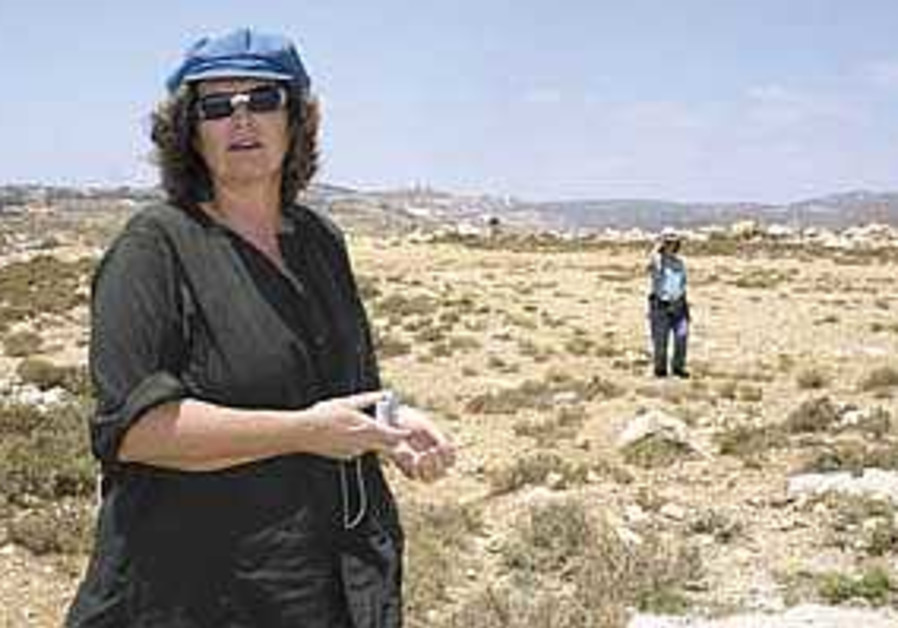 Activists fight uphill battle for greater Efrat