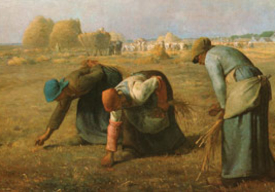 The Gleaners by Jean-Francois Millet.