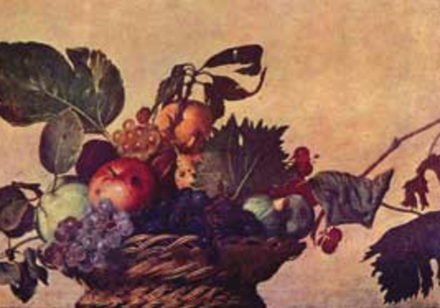 Basket of Fruit, by Michelangelo da Carvaggio