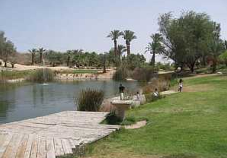 Sapir Park - An Oasis at the Heart of the Arava