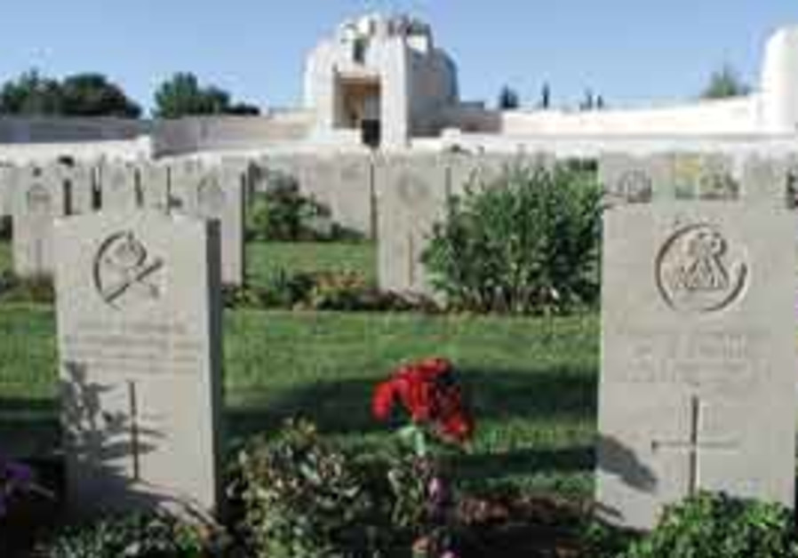 Cemetery Christmas Decorations Part - 49: The British War Cemetery On Mount Scopus.
