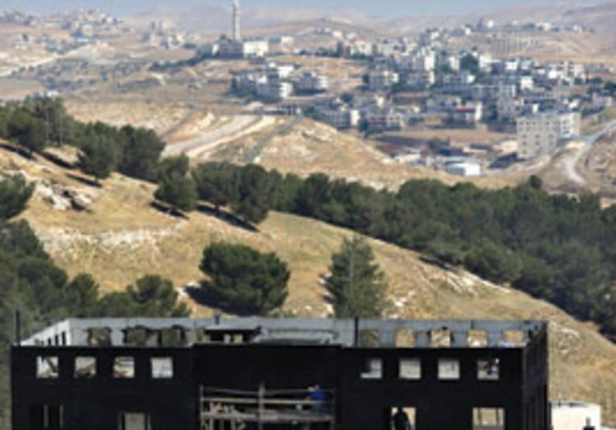 Construction in Har Homa