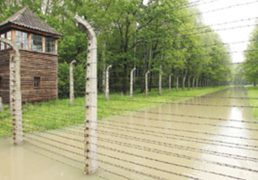 the flood at auschwitz birkenau