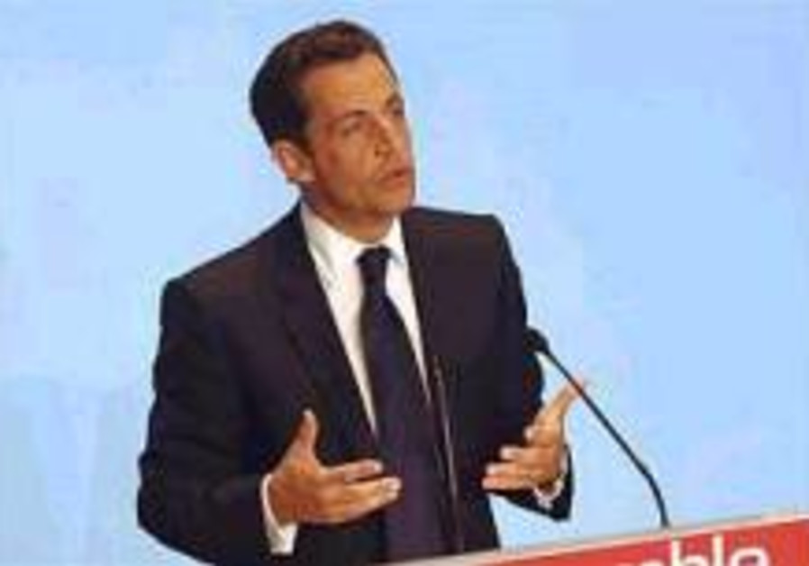 Sarkozy: Lack of Palestinian state an injustice
