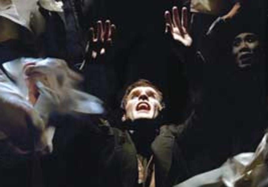 Scenes from 'The Overcoat.'